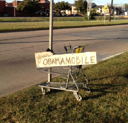 Bumper-Stickers-Fort-Worth-TX-Obamamobile