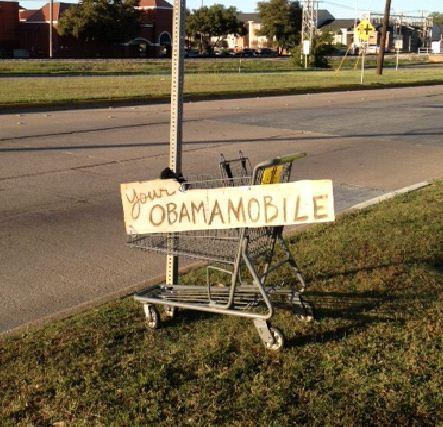 Bumper-Stickers-Fort-Worth-TX-Obamamobile