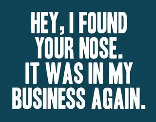 Nose-in-business